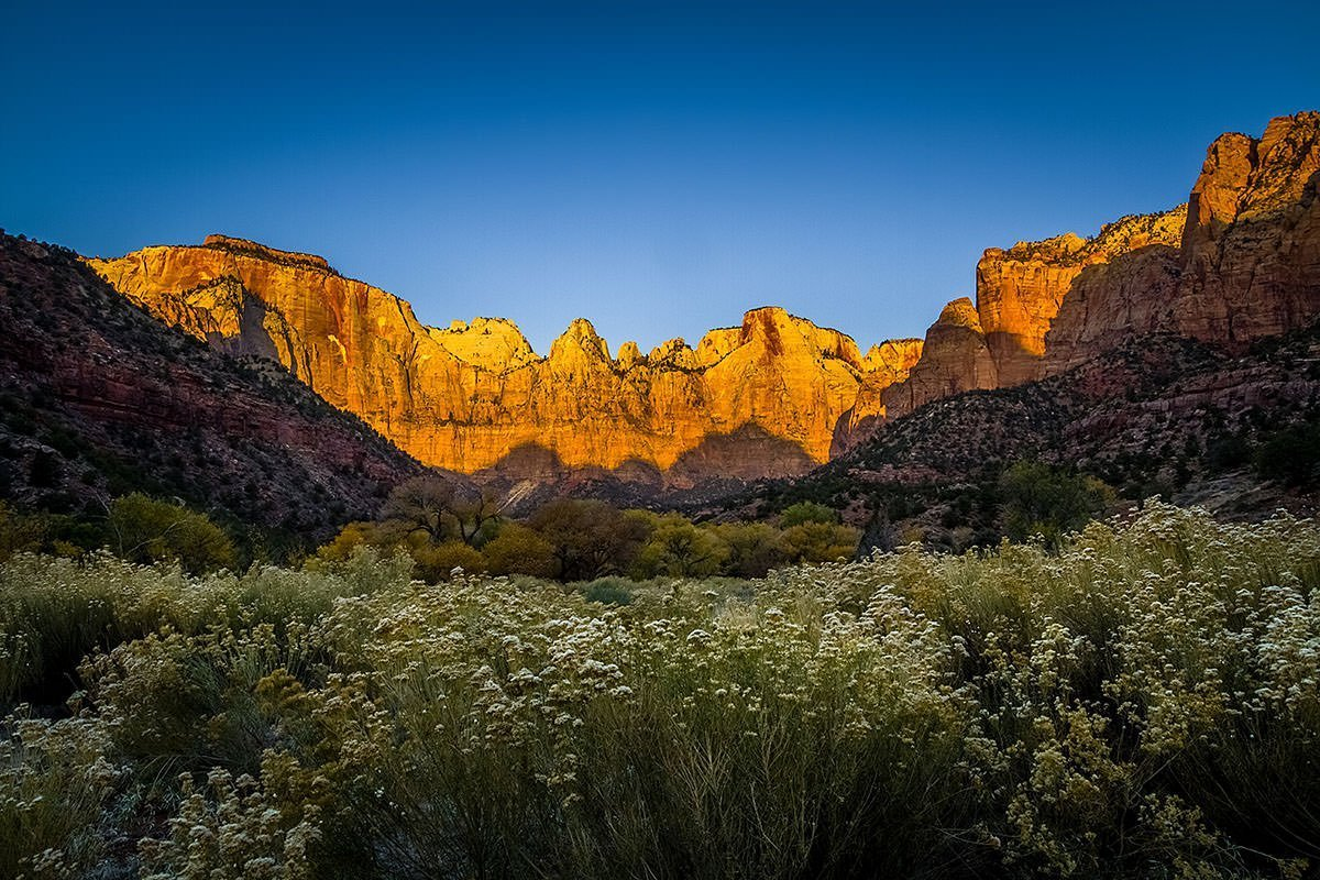 3 Simple Tips to Improve Your Landscape Photography - Towers of Virgin - Zion National Park - Utah Landscape Photography
